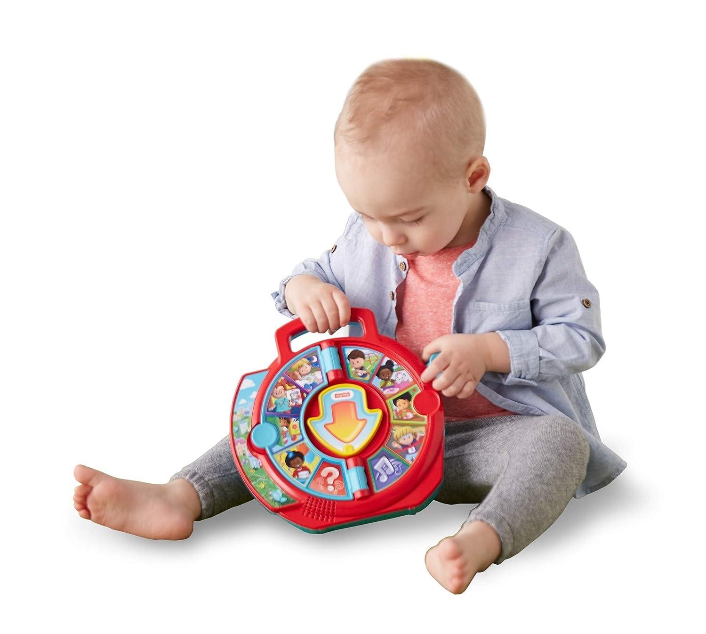 Fisher-Price FXJ70 Little People See N Say Fattoria Parlante Giocattolo Educativo per Imparare a Parlare per Bambini di 18 Mesi