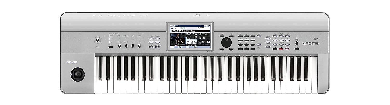 KORG キーボードシンセサイザー KROME Platinum 88 プラティナムカラー 88鍵 B01N3ADD7M 88鍵