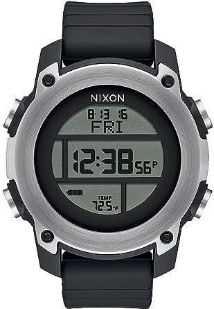 Nixon Unit Reloj para Hombre Digital de Cuarzo con Brazalete de Silicona A962000: Amazon.es: Relojes