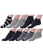 10 Pair Men's Cotton Sneaker No Show Summer Socks