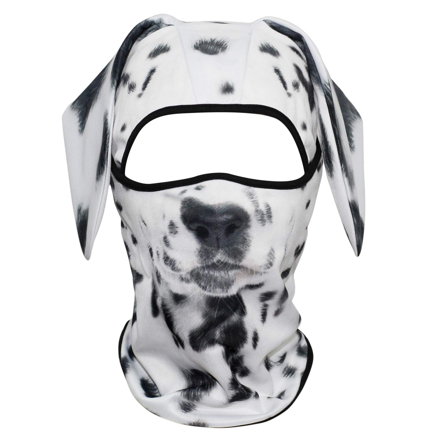 AXBXCX Breathable Cool 3D Animal Neck Gaiter Scarf Face Mask UV Protection for Fishing Motorcycle Cycling Riding Running Hiking Camping Dalmatian by AXBXCX