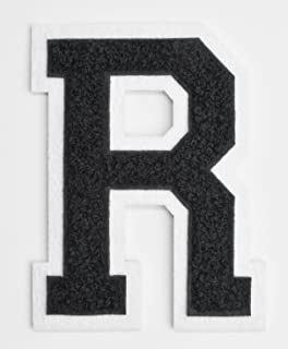 Amazon Com Varsity Letter Patches Dark Navy Blue Embroidered