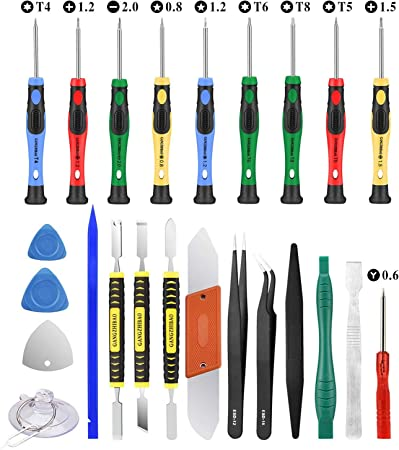 5 in 1 Precision Telecom Tools Screwdrivers Sets for Phone Family Must-Have Repair Tool Compatible with Apple iPhone//BlackBerry Other Mobile Phone 880 Convenient