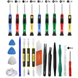 25pcs Electronics Repair Tool Kit, GangZhiBao Precision Screwdriver Set Magnetic for Fix Apple iPhone,Cell Phone,Smart…