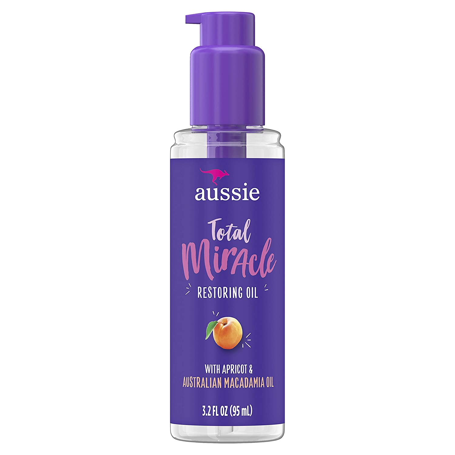 Aussie Total Miracle Restoring Oil 3.2 Ounce Apricot (95ml)