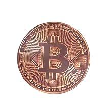Shinekoo Gold / Silver / Copper Plated Bitcoin Coin Collectible Gift BTC Coin Art Collection Physique