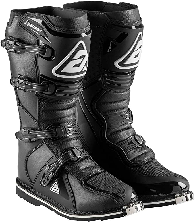 Answer AR1 Youth Race Boot Replacement Strap Kit Black