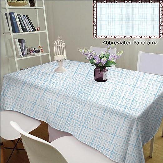 Manteles individuales de algodón y lino, diseño abstracto de ...