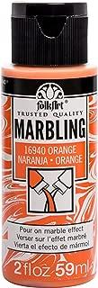 product image for FolkArt Marbling Paint, 2 oz, Orange