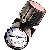 "Primefit CR1401G Replacement Air Regulator with steel-Protected Gauge, 1/4"" Npt"
