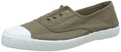 English Elastic Tinted Toe, Unisex Adults Low-Top Sneakers Victoria
