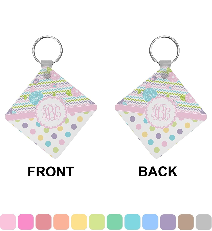 Girly Girl Diamond Key Chain (Personalized)