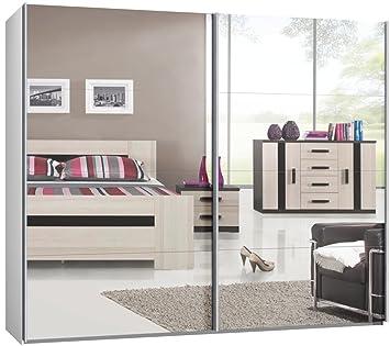 Schwebetürenschrank spiegelfront  Schwebetürenschrank, Schiebetürenschrank, ca. 270 cm, Spiegel ...