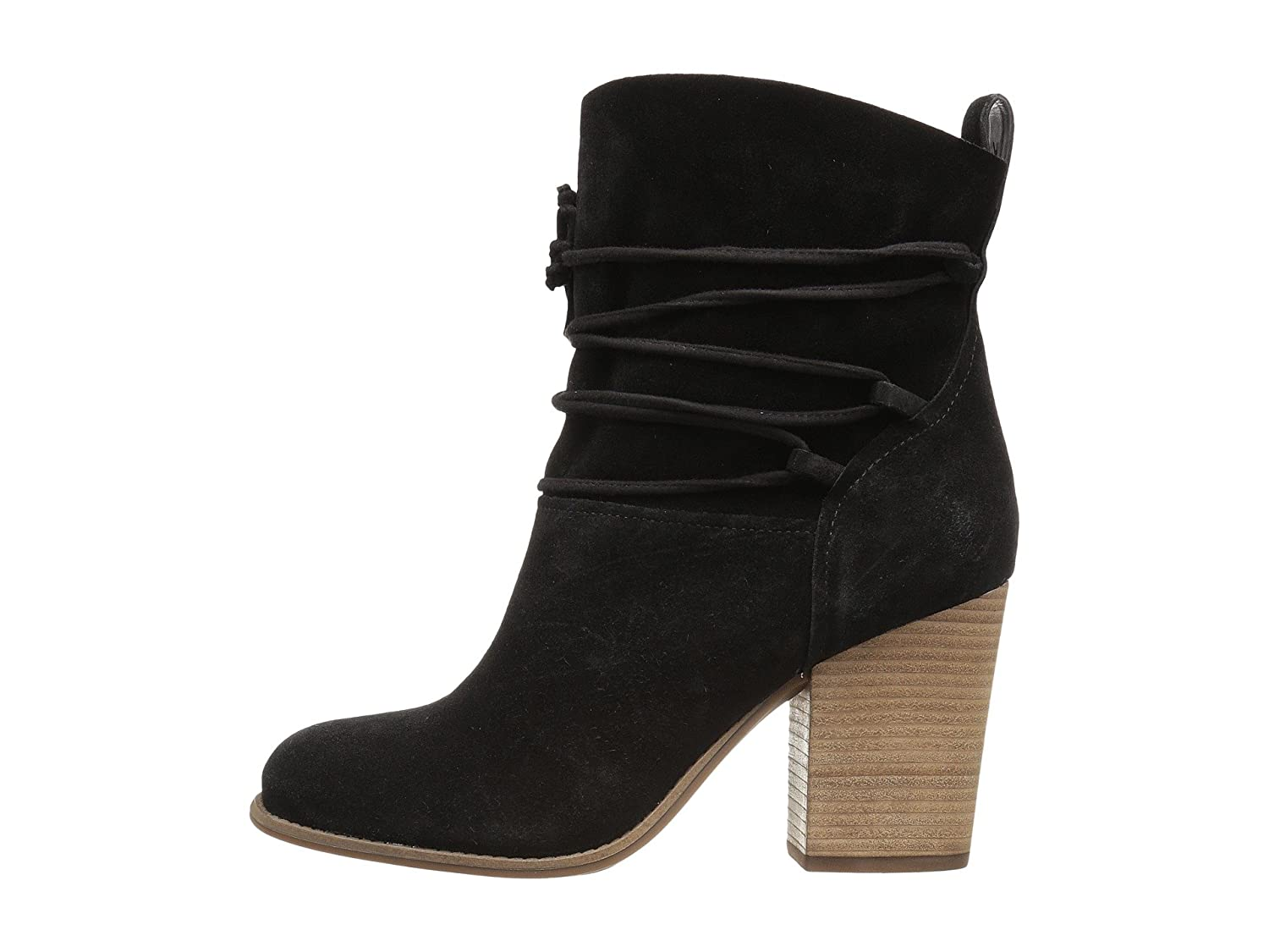 Jessica Simpson Womens Satu Closed Toe Ankle Fashion Boots B01IPXSRB2 7 B(M) US|Black Luxe Kid Suede