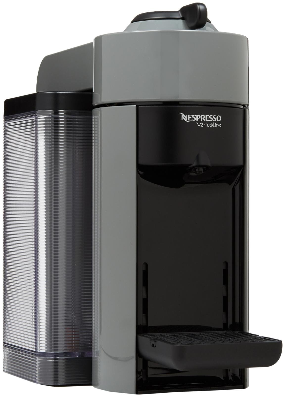 Nespresso GCC1-US-GR-NE VertuoLine Evoluo Coffee and Espresso Maker, Grey (Discontinued Model)