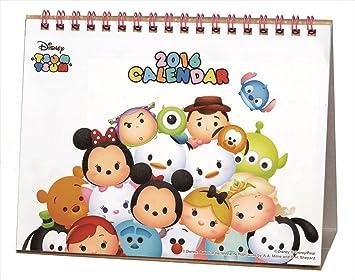 Disney – Peluche Tsum Tsum del calendario de escritorio 2016 Japón Importación