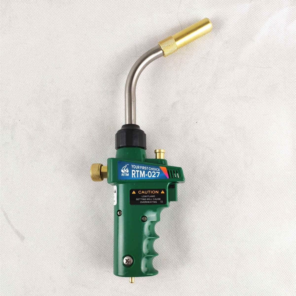 Mapp Gas Self Ignition Trigger Turbo Torch Brazing Propane Plumbing HVAC