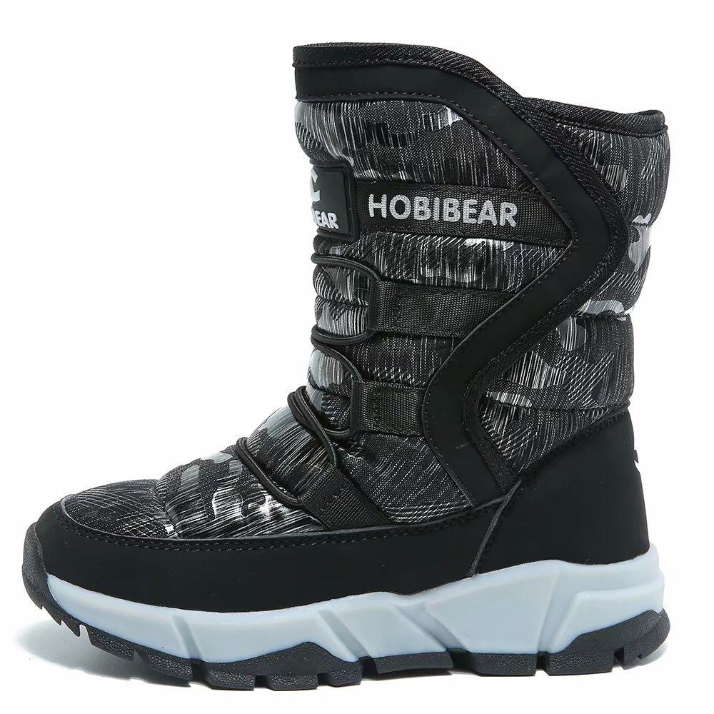 820cba310e397 GUBARUN Boys Snow Boots Winter Waterproof Slip Resistant Cold Weather Shoes  (Toddler/Little Kid/Big Kid)