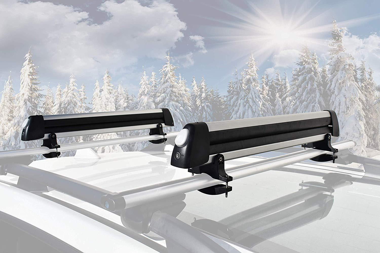 A Plus Car Racks /& Carriers Ski//Snowboard Rack-4 Pair Skis or 2 Snowboards