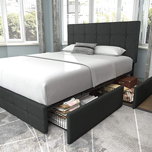 Allewie Queen Platform Bed Frame