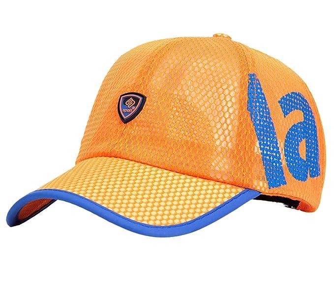 417155e3e5d6 Gedisen Gorro Unisex Verano Gorra de Béisbol Deportiva con Visera  Transpirable para Golf Pesca Deportes al Aire Libre