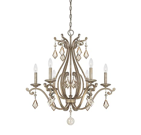 Amazon.com: Savoy House 1 – 8100 – 6 Rothchild 6 luz 28 ...
