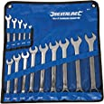 Silverline SP52 Combination Spanner Set, 1/4 - 1-1/4 Inches - 14 Pieces