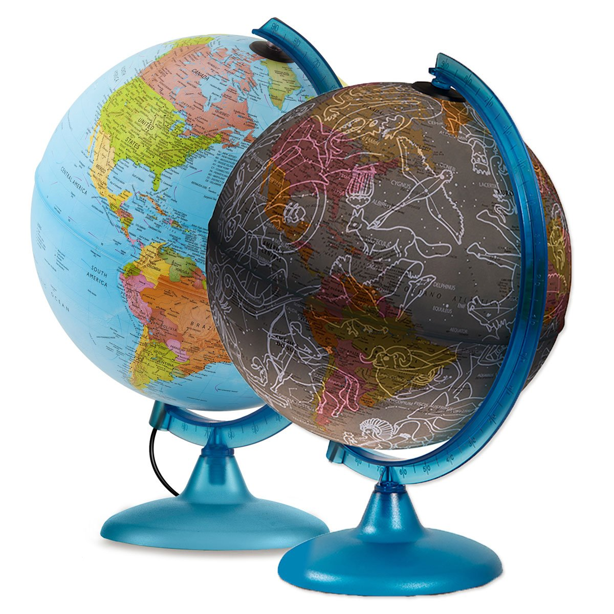 Waypoint Geographic Earth & Sky 2 in 1 Exploration Globe World, 10'' by Waypoint Geographic