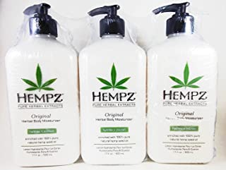 product image for Hempz Original Herbal Moisturizer 17 Ounce Lotion 3 Pack