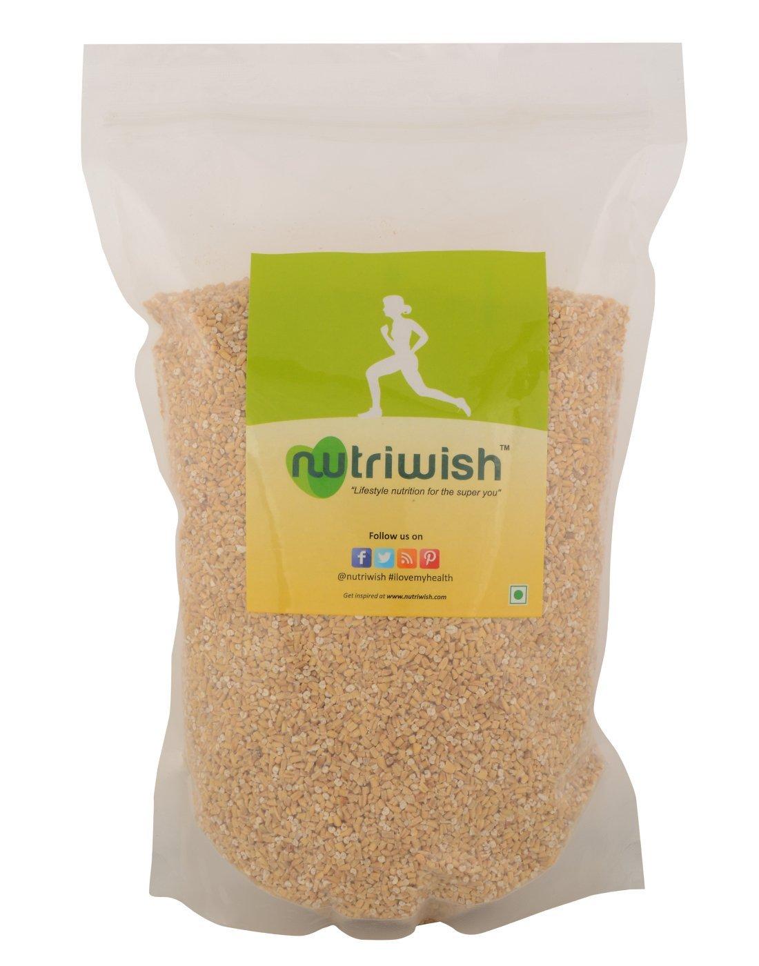 Nutriwish Gluten-Free Steel Cut Oats 1.75kg (Healthy Breakfast Food) by Nutriwish