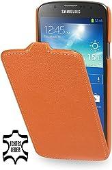 StilGut, UltraSlim, pochette exclusive pour le Samsung Galaxy S4 Active i9295, en orange