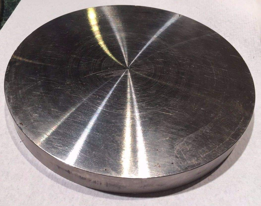 New 6'' Dia x 0.68'' Thick, 720 Nickel Rod Round Bar Disk inconel 718 -Excellent Stability (Only 10 pcs Left) by Nice1159
