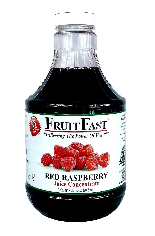 FruitFast – Concentrado de zumo de frambuesa rojo, relleno ...