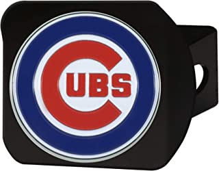 product image for FANMATS 26538 MLB - Chicago Cubs Color Hitch Cover - Black