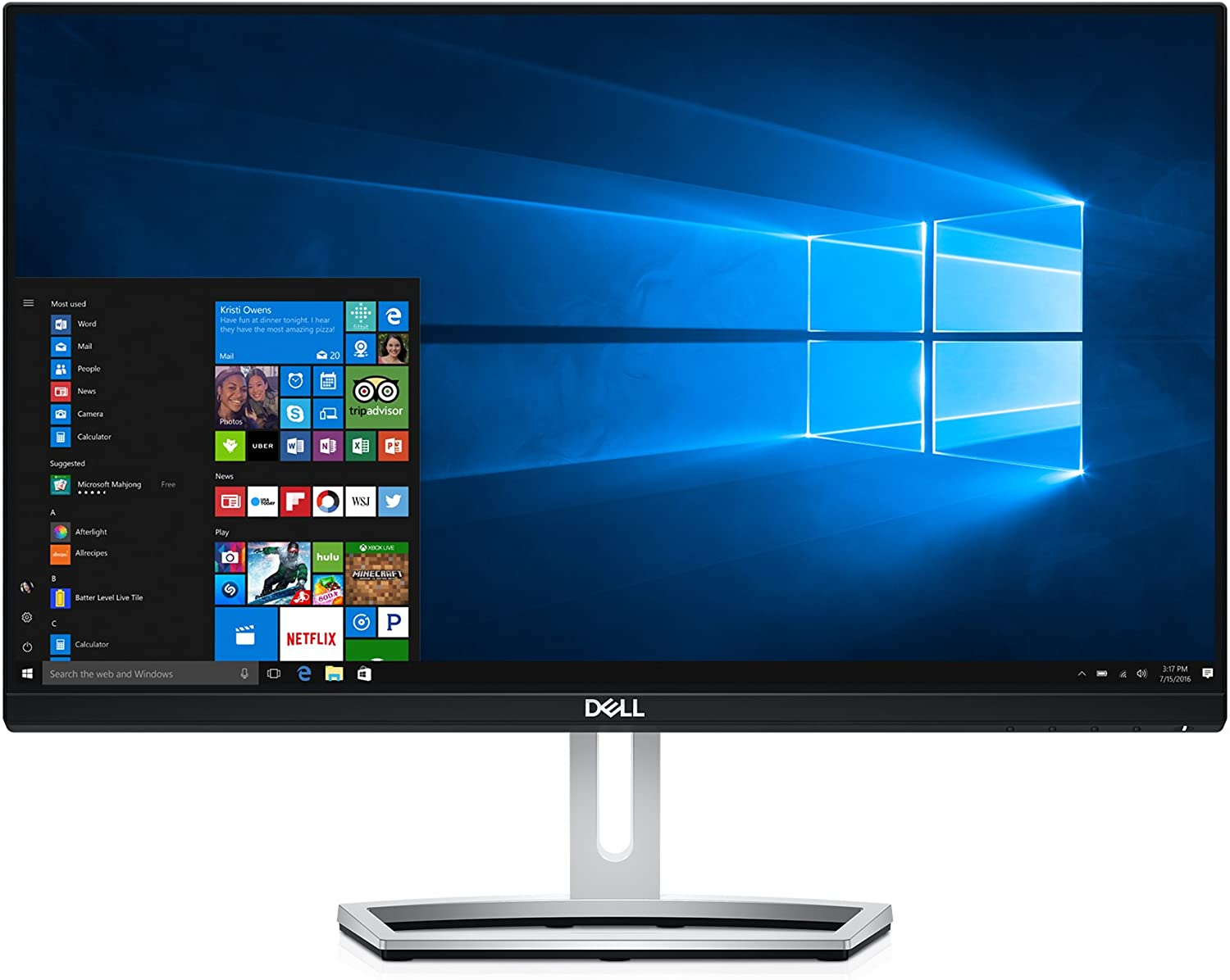 "Dell S Series Screen LED-Lit Monitor 23"" Black (S2318H)"