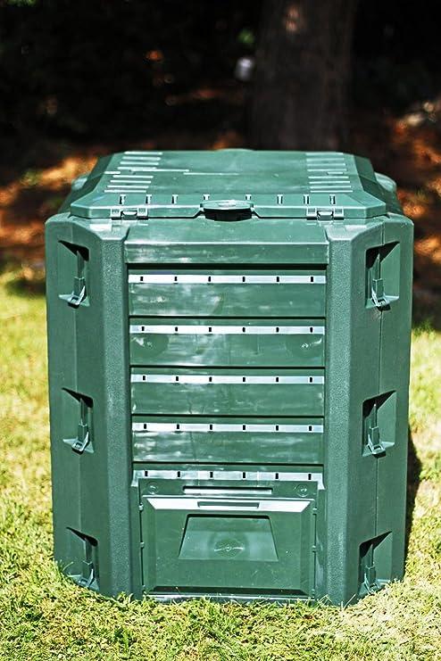Zanvic Compogreen - Compostador Jardín, 380 LTS, Verde: Amazon.es ...