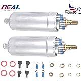 DEAL Set of 2 New EFI Electric External In-Line Fuel Pump Fit Benz C