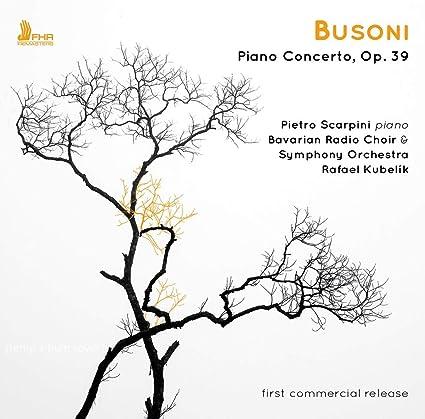 PIANO CONCERTO: BUSONI, F.: Amazon.it: Musica