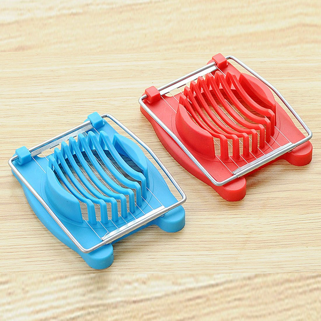 Amazon.com: Kitchen Cooking Tools Stainless Steel Boiled Egg Slicer ...