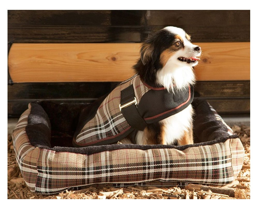 Kensington Reversible Dog Bed, Black Ice, XL