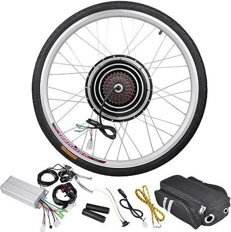 AW - Kit de Motor eléctrico para Bicicleta (26 x 1,75 Pulgadas, 36 ...