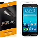 [6-Pack] Supershieldz- Anti-Bubble High Definition Clear Screen Protector For Asus ZenFone 2E (AT&T) -Lifetime Replacements Warranty - Retail Packaging