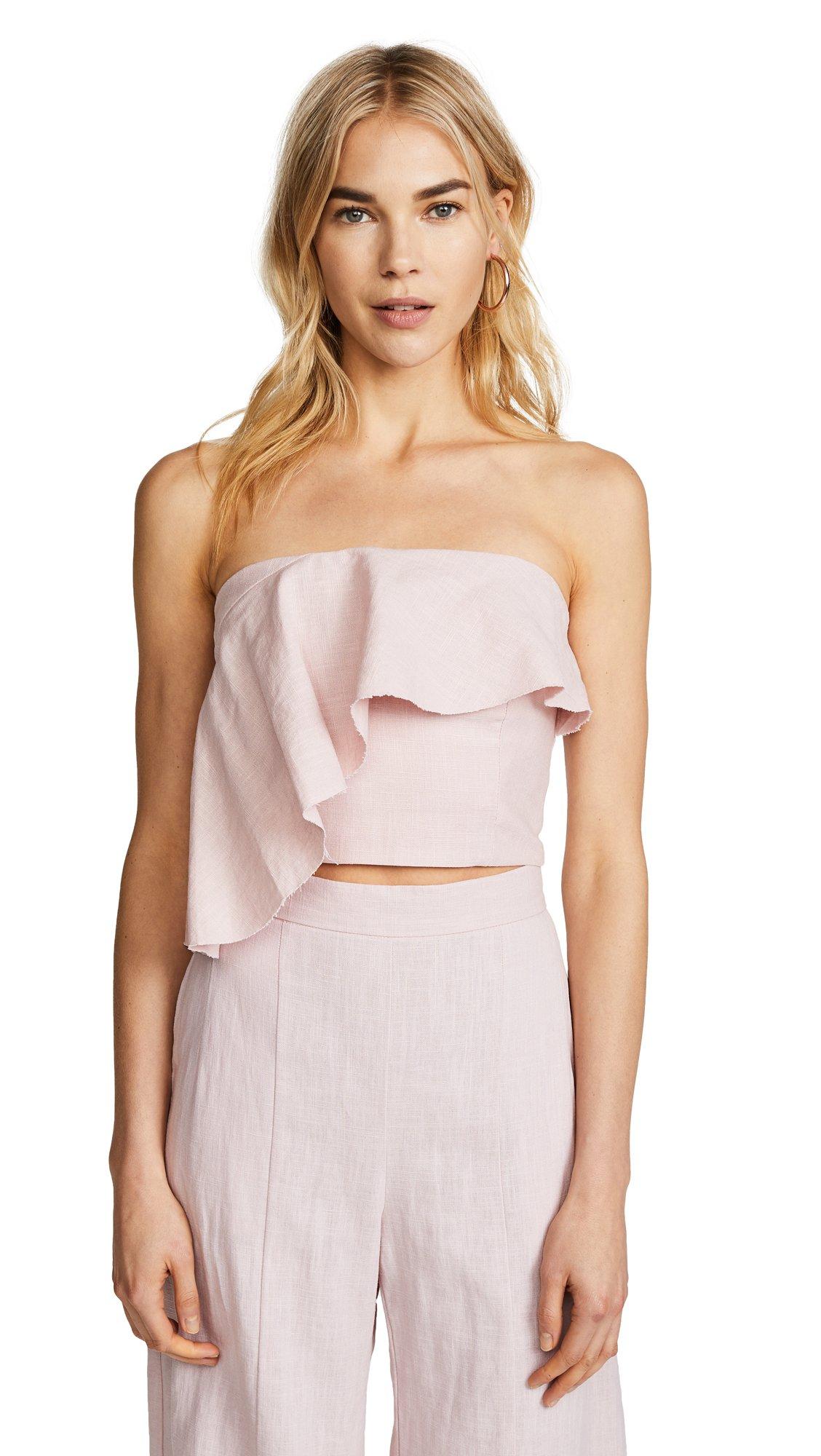 Bec & Bridge Women's Evie Rose Top, Pink, 2