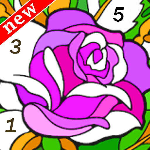 Happy Color - Magic Coloring by Number