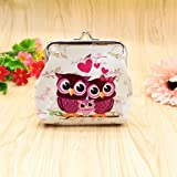Coin Purse, Mikey Store Women Lady Retro Vintage