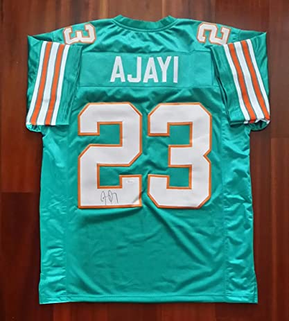 8dfa4aeb86c Image Unavailable. Image not available for. Color  Jay Ajayi Autographed  Signed Jersey Miami Dolphins JSA