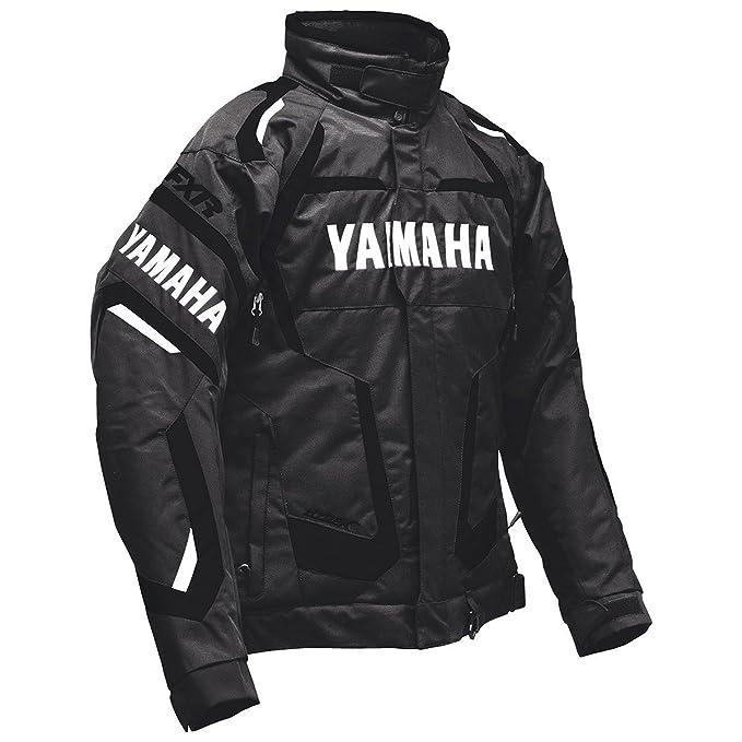 Yamaha four-stroke chaqueta - negro: Amazon.es: Coche y moto