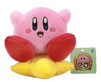 "Kirby Mini bola de peluche con cadena – 4,5 ""Kirby Sentado en"