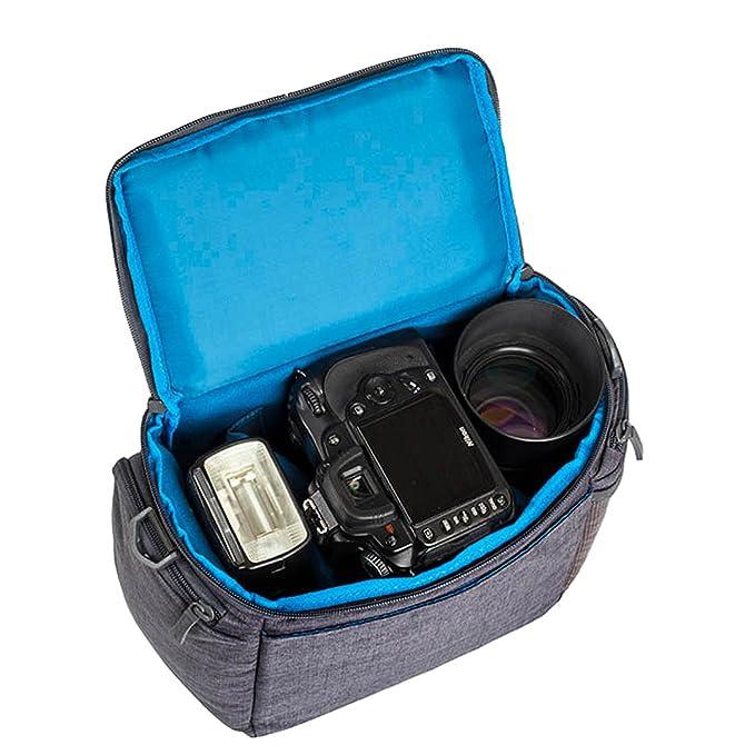 Rivacase M_7503 - Funda para cámara de Fotos réflex (Interior ...
