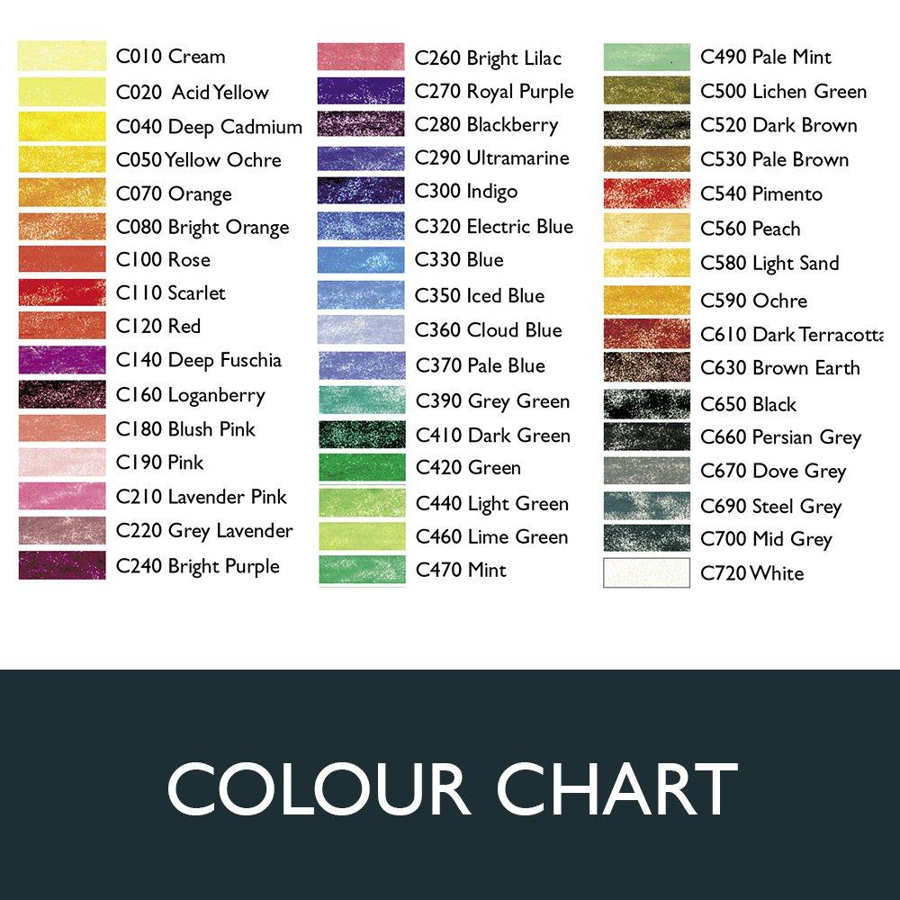 Skintone 6 Count 2300217 Derwent Colored Pencils ColourSoft Pencils Drawing Metal Tin Art